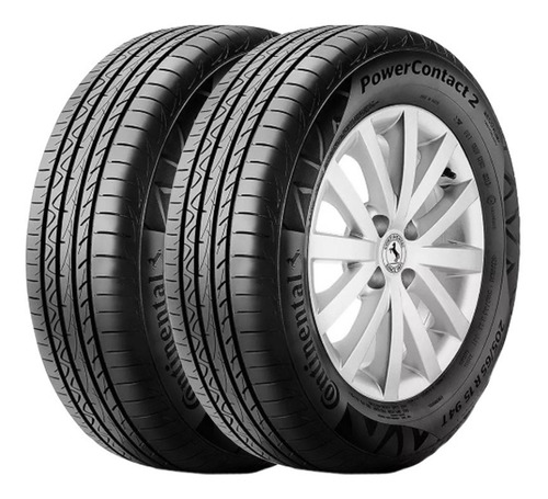 Kit X2 Neumaticos 175/70r14 Continental Power Contact Fs6