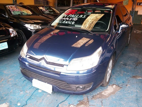 C4 Pallas 2.0,azul,completo Carro Muito Inteiro