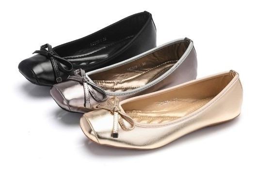 Sapato Sapatilha Flat Modern - Frete Grátis