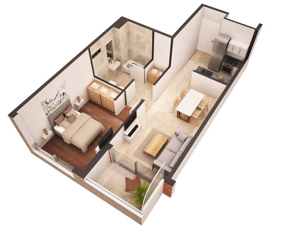 2 Ambientes Con Balcón Apto Profesional En Construcción - Parque Patricios