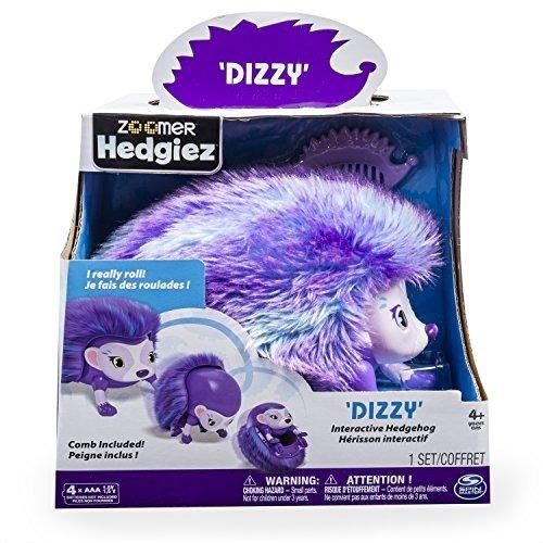 Zoomer Hedgiez, Dizzy, Interactive Hedgehog Con Luces, Sonid