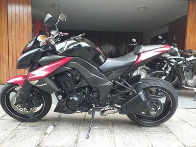Kawasaki Z 1000 Preta 2012