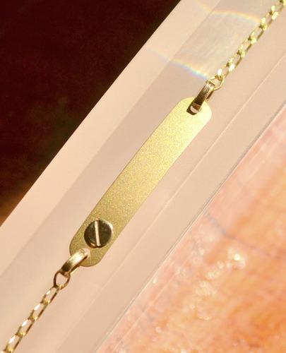 236322453fe3 Pulsera De Oro Para Bebe De Identidad Oro 18 Kt. Grabadas - Joyas y ...