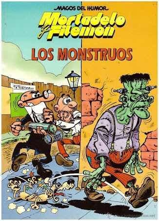 Lote 20 Comics Mortadelo Y Filemón Los Monstruos #22