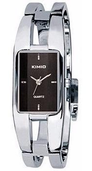 Relógio Feminino Bracelete Fashion Casual Kimio Prata Kw1601