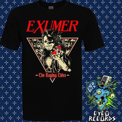 Imagen 1 de 3 de Exumer - The Raging Tides - Metal - Polera- Cyco Records
