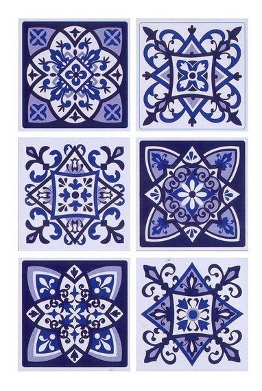 Azulejos Autoadhesivos Vinilo Muresco 16231 X 6 Unidades