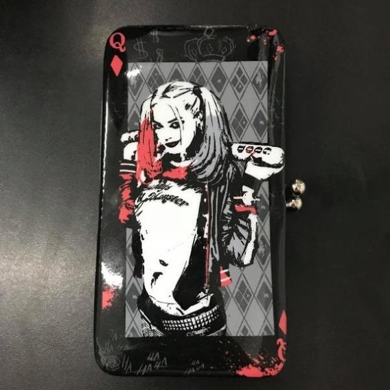 Billetera Larga Harley Quinn - Kawaii Atelier