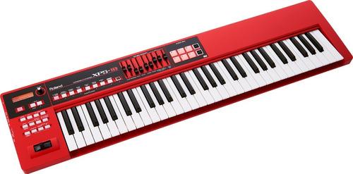 Imagen 1 de 4 de Teclado Sintetizador Roland New Edition Xps-10rd Rojo