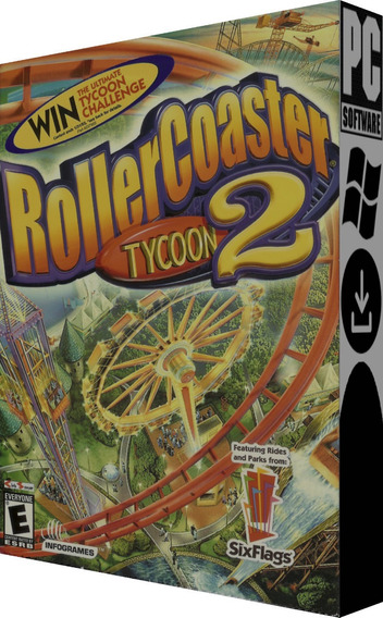 Rollercoaster Tycoon 2: Triple Thrill Pack - Pc - Digital