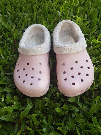 Crocs Originales Corderito Piel Invierno Talle 31/32 (j1)