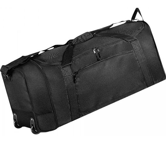 Bolsa De Viagem Sacolão Mala De Mão Gigante Dobrável Com Rodinhas - Super Resistente - Clio Original