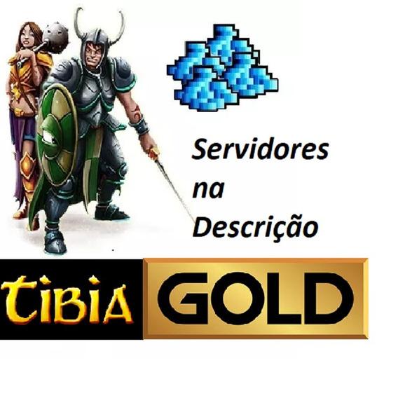 Tibia Gold 10kk ( Servidores Non Pvp) + 500k Brinde