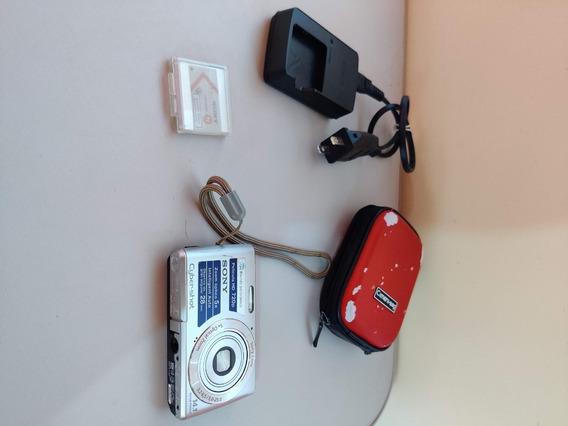 Câmera Fotográfica Sony Cybershot Dsc-w620 Zoom Óptico