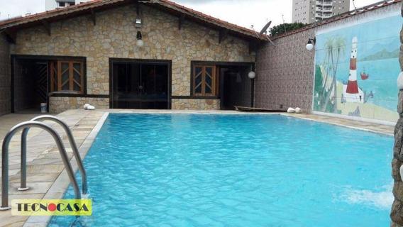 Casa Com 03 Dormitórios Para Venda Por R$ 800.000 No Bairro Campo Da Aviação Em Praia Grande/sp. - Ca3349