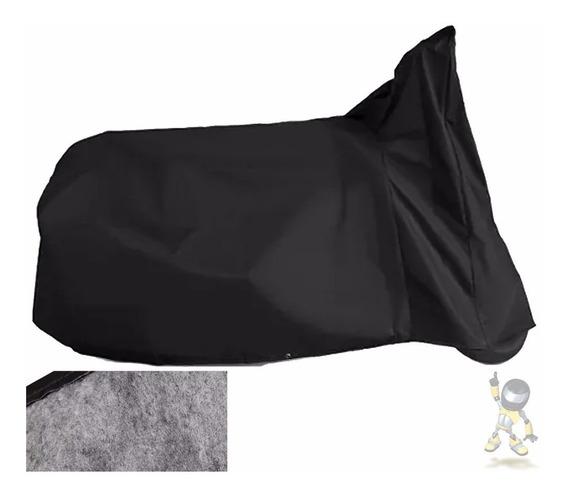 Capa Para Cobrir Moto Com Forração Em Feltro - Super Oferta