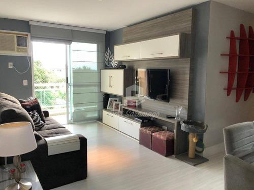Oportunidade! Apartamento 2 Quartos Todo Montado, Porteira Fechada, Próximo A Itacoatiara! R$500.000,00 - Ap0539