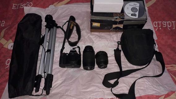 Cámara Nikon D3200 + Kit Profesional