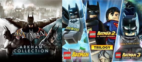 Batman: Arkham Trilogia + Lego Batman Trilogia + 2 Jogos Pc