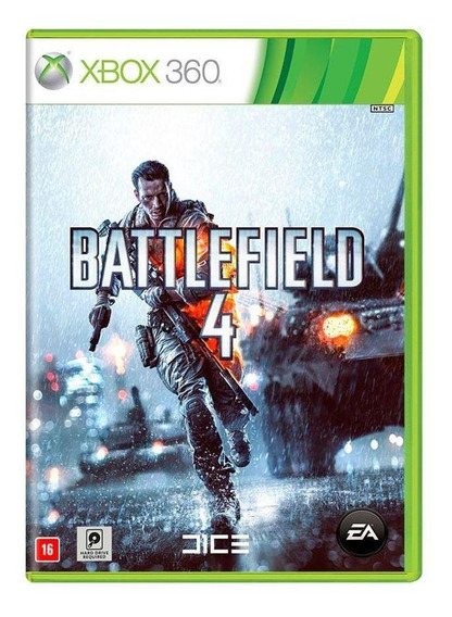 Battlefield 4 Xbox 360 Mídia Física Novo Lacrado