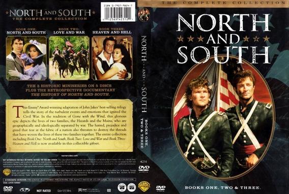 Norte E Sul = Completo 8 Dvds = Digital-legendado