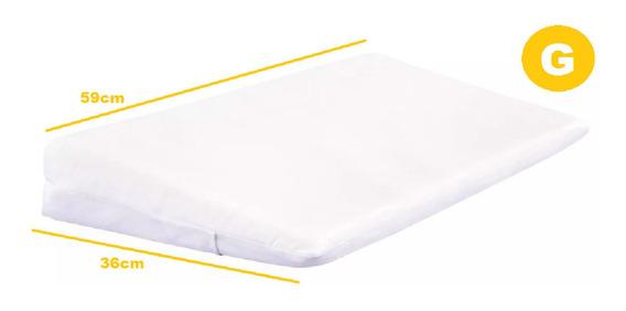 Travesseiro Anti-refluxo Rampa Para Berço E Grávida C/fronha
