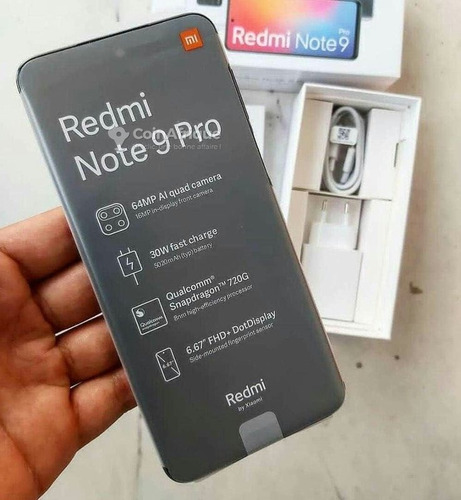Imagem 1 de 5 de Redmi Note 9 Pro 128 Gb