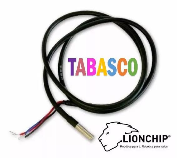 Sensor De Temperatura Sumergible Ds18b20 Arduino Raspberry