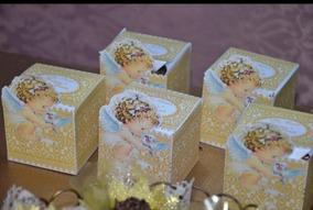 20 Caixas Personalizadas Quadradas R$1,29 Unidade