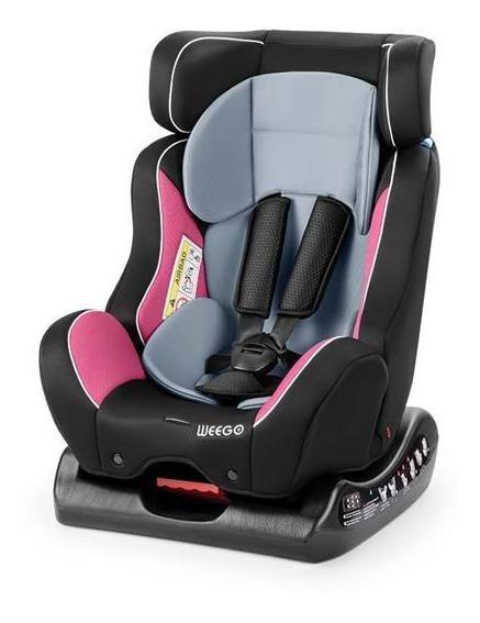 Cadeira Para Bebe Size4me Weego 0-25kg (0, I, Ii) Rosa