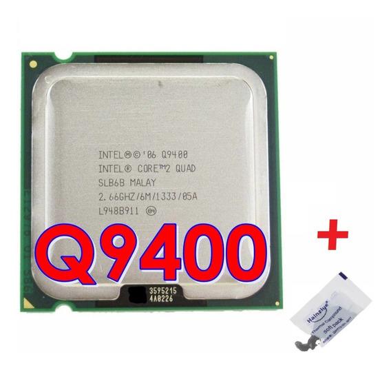 Processador Core 2 Quad Q9400 2.66ghz 6mb + 2gb Ddr2 800mhz