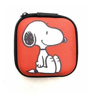 Estuche Para Audífonos Con Figura De Snoopy