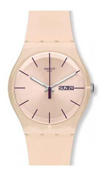 Reloj Swatch Mujer Rose Rebel Suot700 Envio Gratis Garantia Oficial