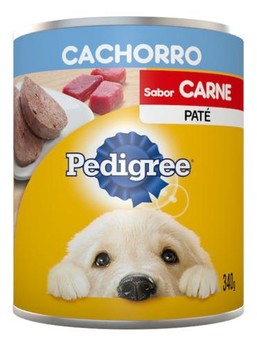 Imagen 1 de 2 de Alimento Perro Lata Pedigree Cachorro 340gr.