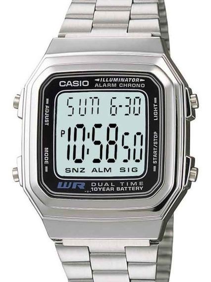 Relógio Masculino Casio Retro A178wa-1adf - ( Nota Fiscal )