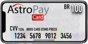 Astropay 100brl Peca Antes De Pagar. Envio Imediato.