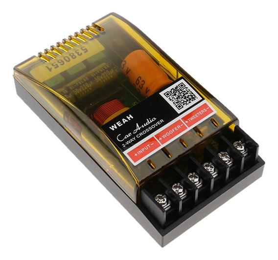 2 Way Audio Speaker Divisor De Frequência Aplificador Crosso