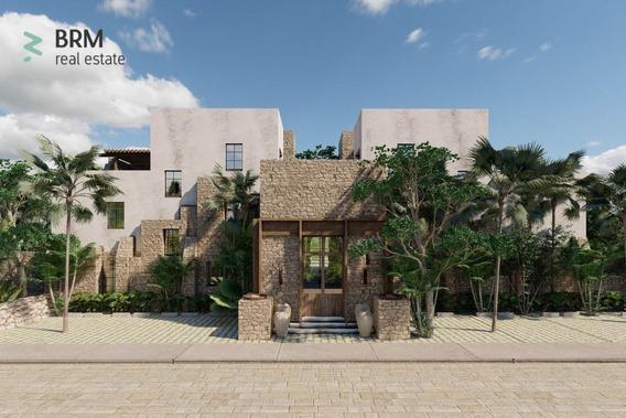 Estudio En Aldea Zama, Con Una Habitación, Un Rooftop Común, Una Alberca Común.