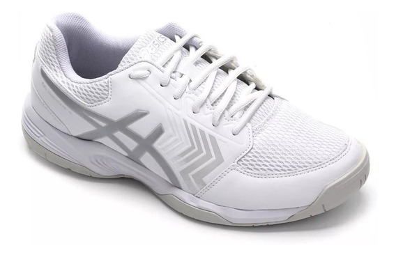 Tênis Para Jogar Tênis Asics Gel Dedicate 5a Branco Novo