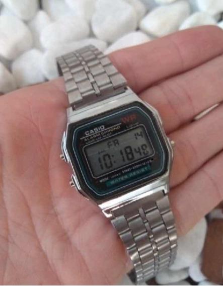 Relógio Casio Retrô Prata