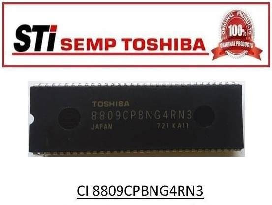 Circuito Integrado Toshiba 8809cpbng4rn3
