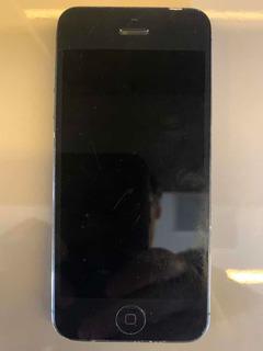 iPhone 5 32gb - Carcaça Para Peças Com Caixa Original C/fone