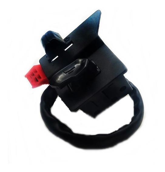 Botão Interruptor Buzina E Pisca Crypton 115 T 09 A 16