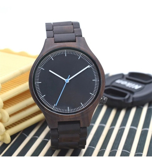 Relógio Masculino Madeira
