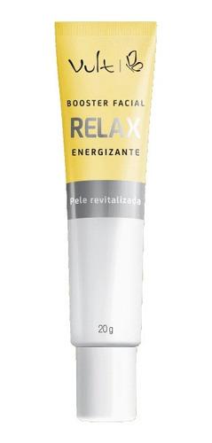 Imagem 1 de 1 de Booster Facial Vult Relax Energizante 20g