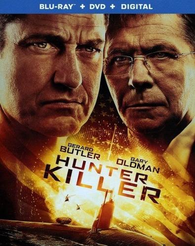 Blu-ray + Dvd Hunter Killer / Mision Submarino
