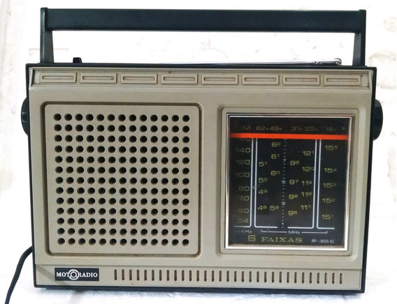 Motoradio 6 Faixas Rp-m65 Ac Radio Placa Para Reparo Carcaça