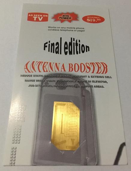 4 Super Antena Amplificadora Booster Final Edition+ Potencia