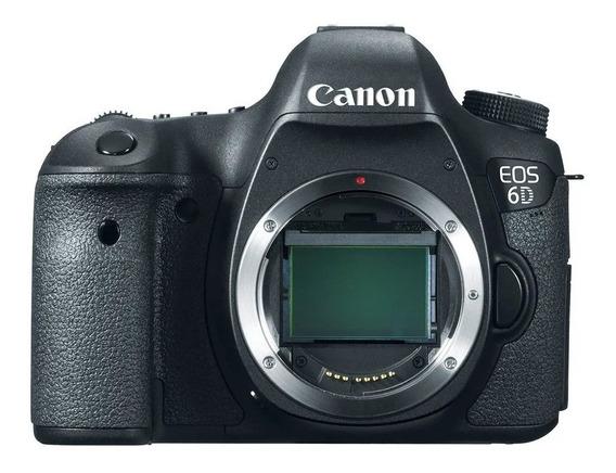 Câmera Digital Dslr Full-frame Eos Canon 6d Ef 35k