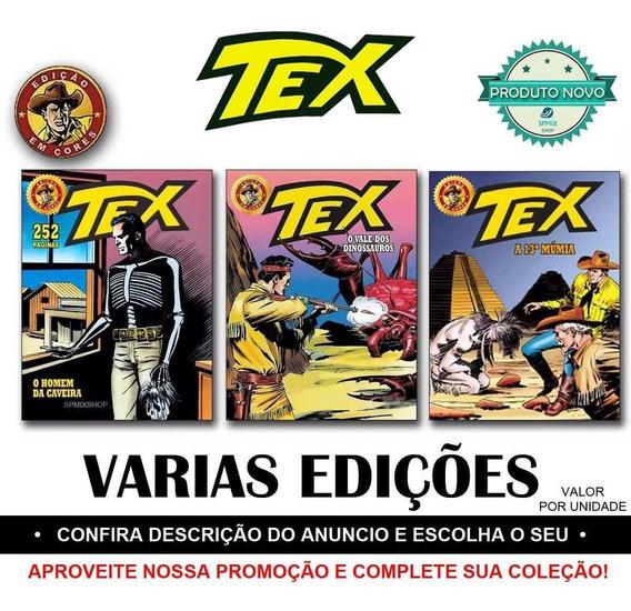 Tex Edição Em Cores Novas Revista Historia Faroeste Escolha